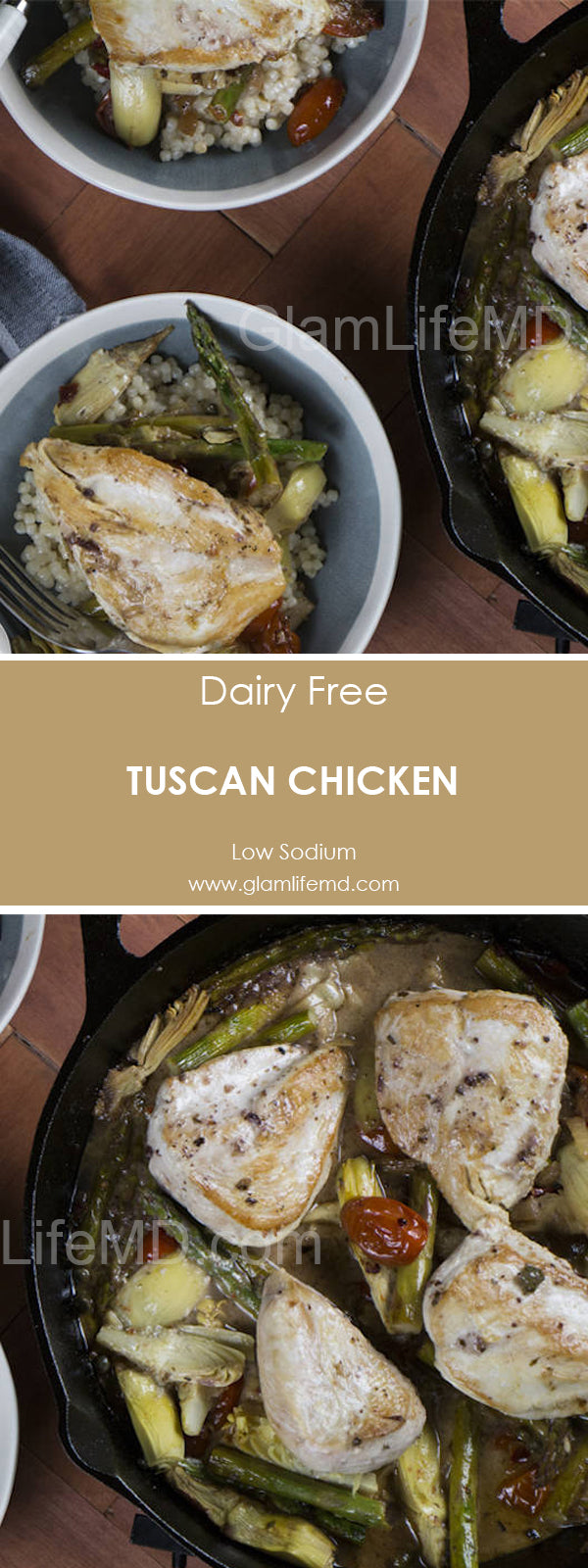 Tuscan Chicken | Recipes With Chicken