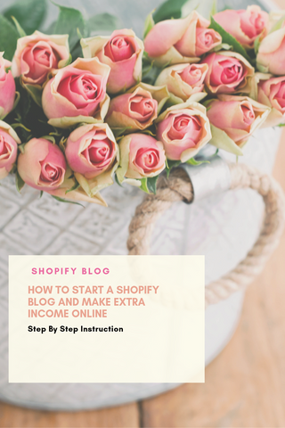 How To Start A Shopify Blog