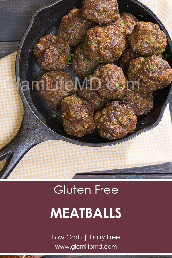 GGluten Free Meatballs | Recipes Appetizers Party