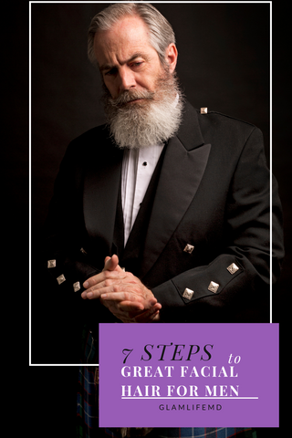 7 Steps To Great Facial Hair For Men