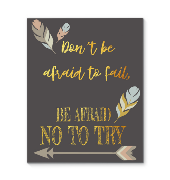 Canvas Wall Art Inspirational Quotes