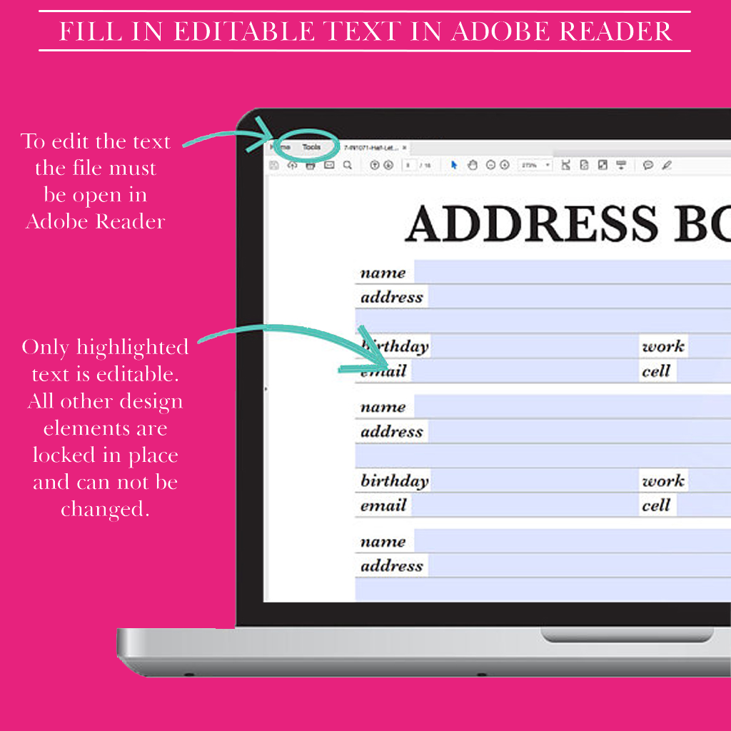 photograph regarding Address Book Printable known as Include E book Printable, Get hold of Website page, Include Web site,