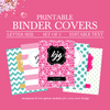 Binder Covers Printable, Student Printable Binder Covers and Spines, Teacher Binder Cover, Binder Spine, School Binder Cover,Monogram Binder