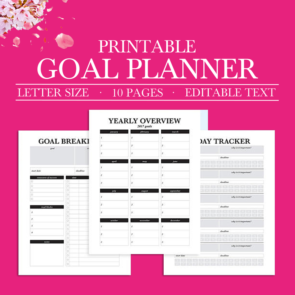 photo regarding Printable Goal Tracker named Purpose Tracker, Function Creating, Purpose Ecosystem, Reason Planner, Refreshing Many years Answer, Accomplishment Planner, Intent Worksheet, Routine Tracker Printable,Letter Measurement