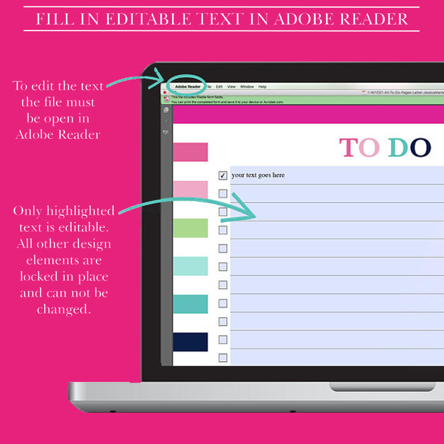Daily To Do List Printable, Weekly To Do List Planner Insert, Printable To Do List, Project To Do List,To Do Planner, Letter Size Planner A4