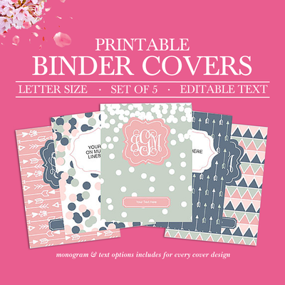 This is a picture of Printable Binder Covers for School inside high school