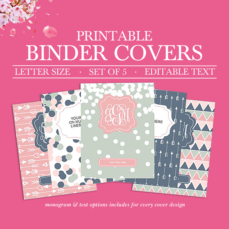 photograph relating to Binder Inserts Printable referred to as Binder Addresses
