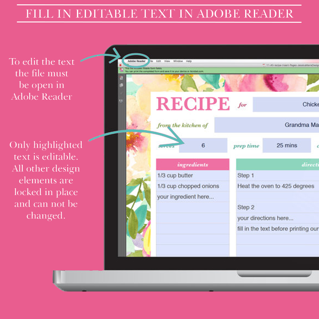 It is a graphic of Free Printable Recipe Binder Kit throughout book cover printable