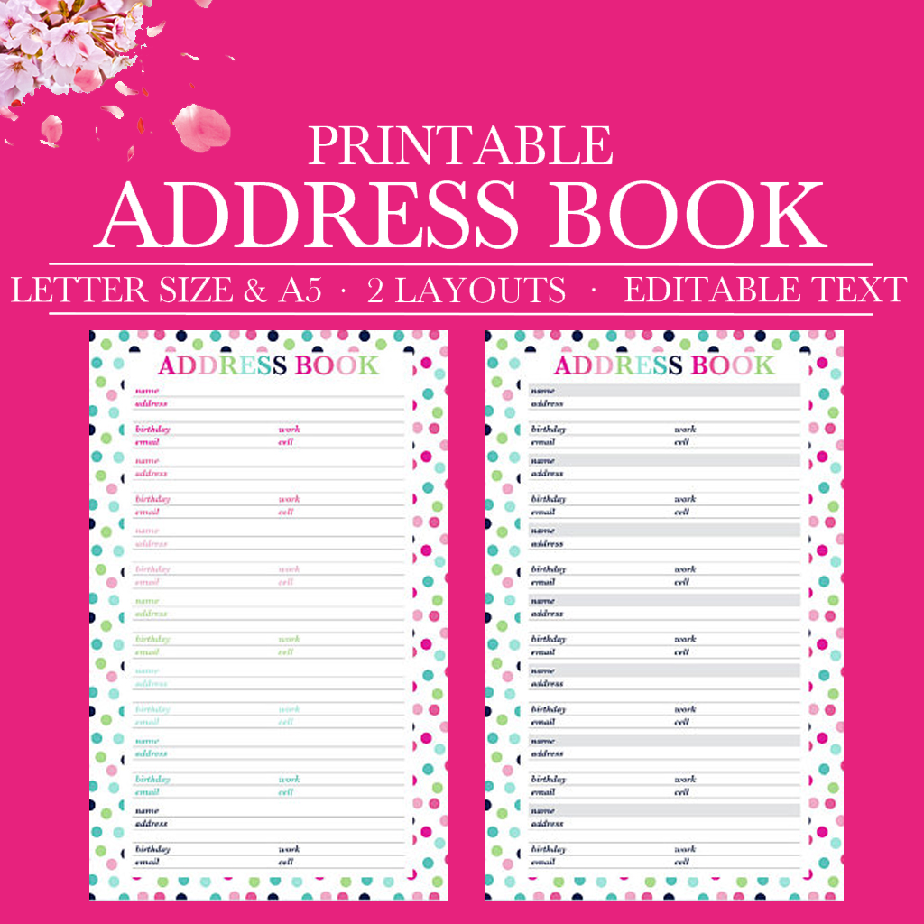 photo regarding Address Book Printable identify Protect Reserve Printable, Get hold of Site, Protect Web site, Contacts Printable, Call Record, Printable Planner Inserts, 50 percent Letter , A5 Dimensions,Letter,A4 Dimension