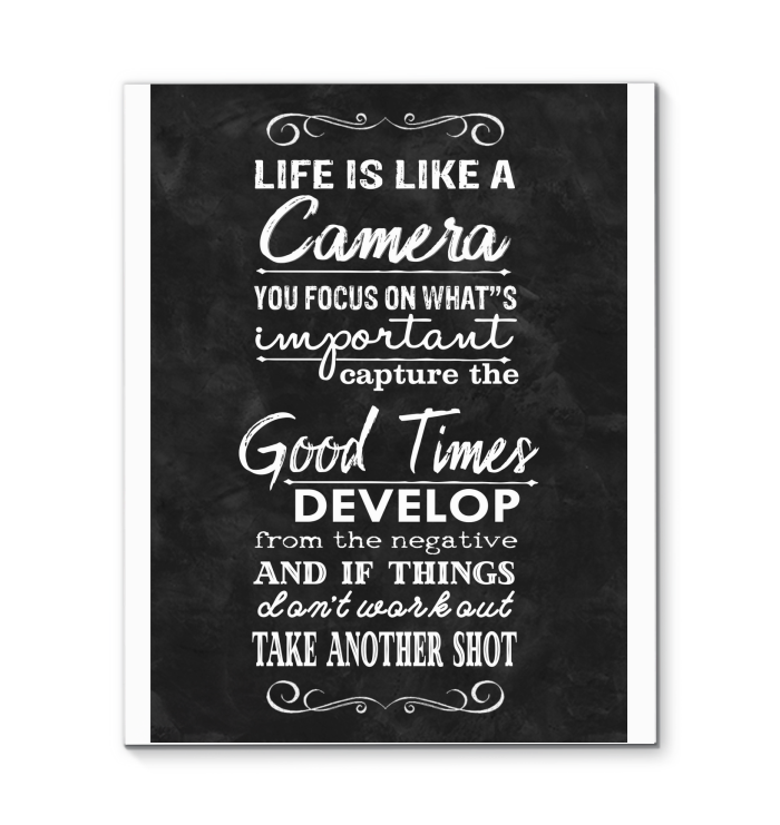 Canvas Wall Art Inspirational Quotes 016