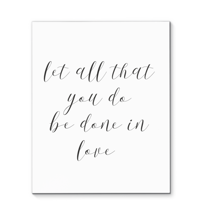Canvas Wall Art Inspirational Quotes 021