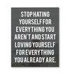 Canvas Wall Art Inspirational Quotes 033