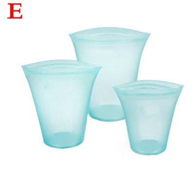 BPA Free  Silicone Food Storage Containers