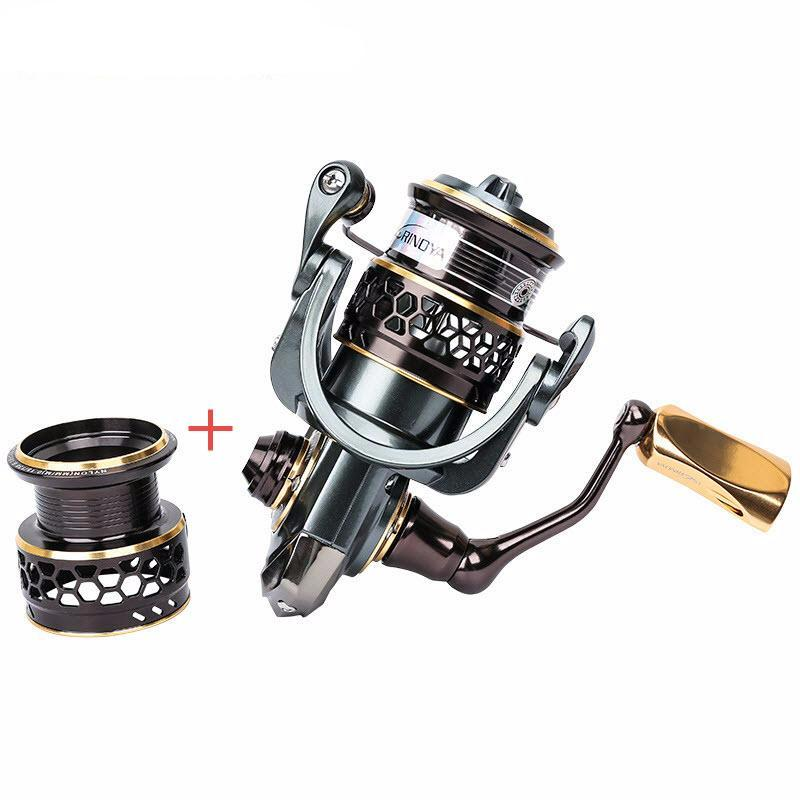 Jaguar 1000 Spinning Fishing Reel with Spare Spool
