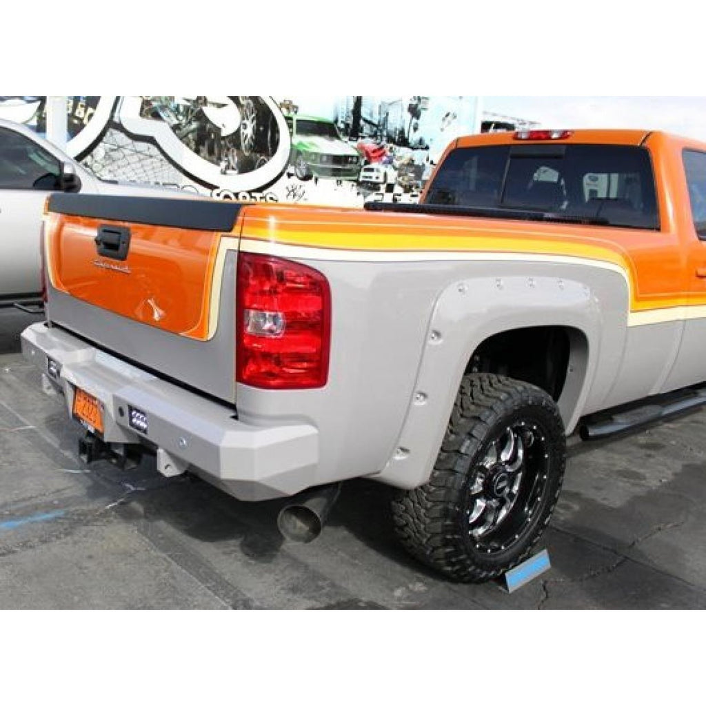 Rear Fusion Bumper 2007.5-2013 GMC HD Sierra 1500