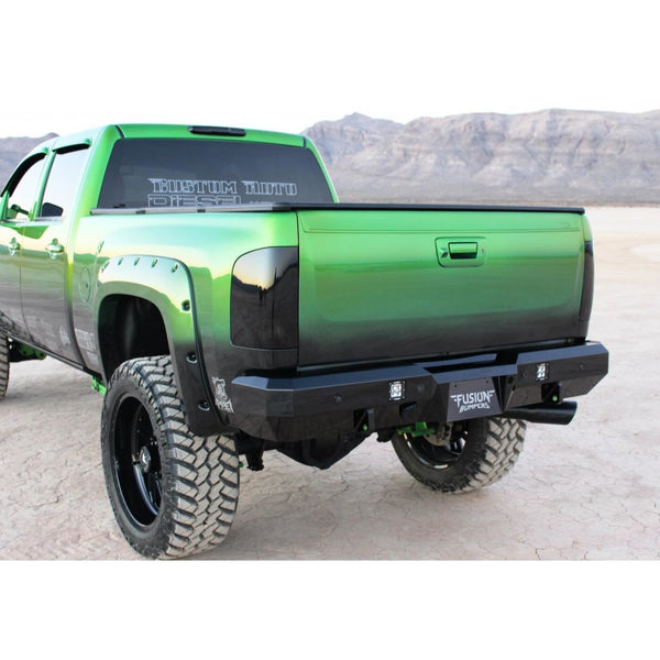 Rear Fusion Bumper 2015-2017 Chevy Silverado HD 2500-3500