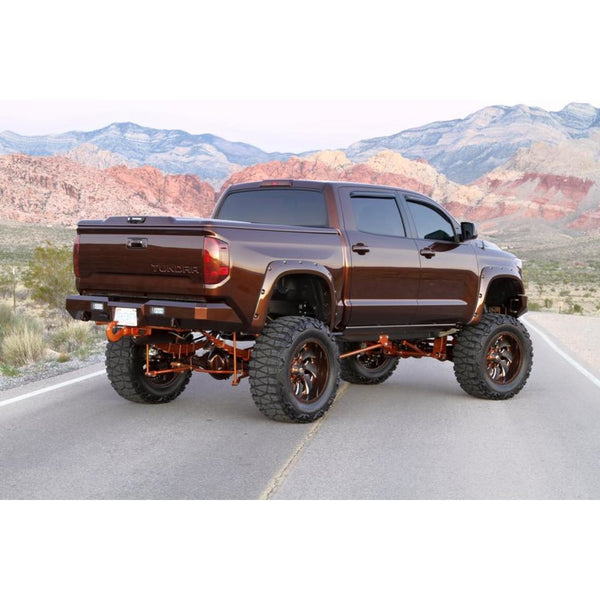 Rear Fusion Bumper 2014-2017 Toyota Tundra (with Back-up Sensors)