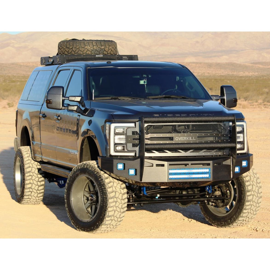 Front Fusion Bumper 2017-2018 Ford Super Duty