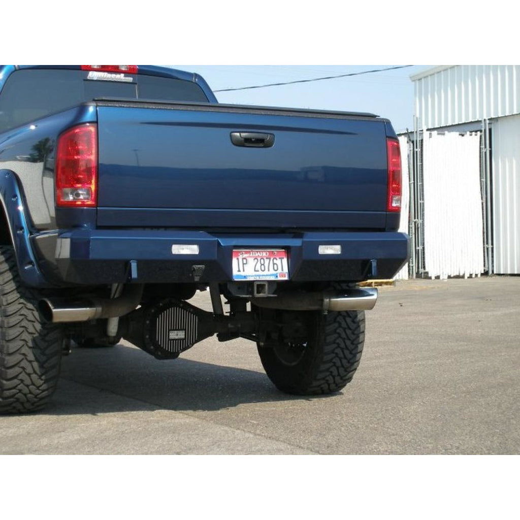 dodge bumper ram rear piece cover bt duraflex