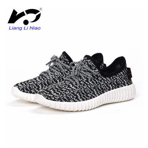 2016 New Women Run Shoes High Quality Sneakers Lace-up Mesh Breathable Runing Trainers Krasovki Women Yeezys Ladies Basket - shoewho