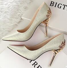 Women Shoes High Heel Sexy Shallow Pointed Toe