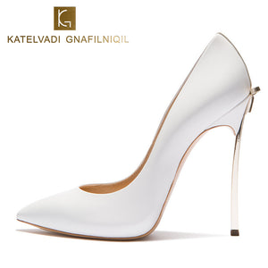 Brand Wedding Shoes Woman High Heels - shoewho