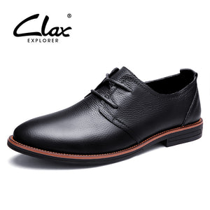 Clax Oxfords Men Genuine Leather Brand - shoewho