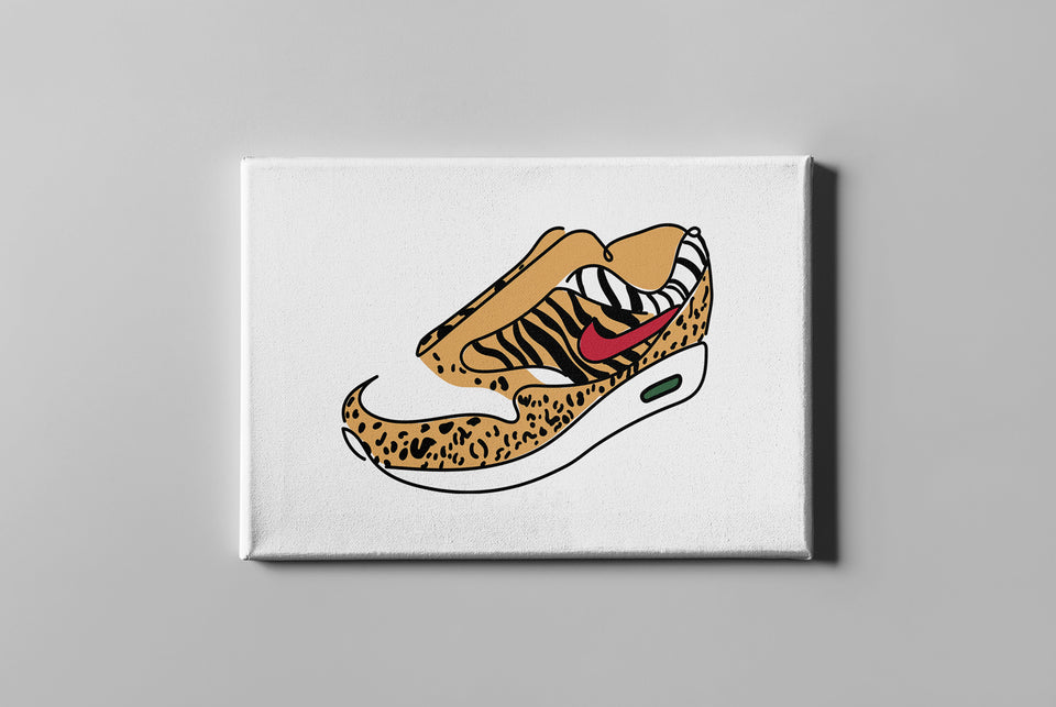 Air Max 1 Animal Pack Canvas