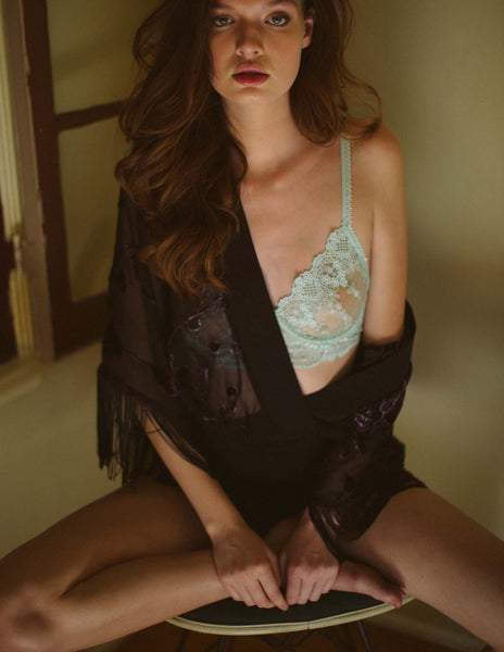 Next To Nothing Delphine Lace Bralette