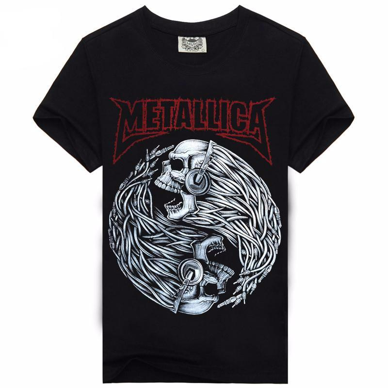 Metallica Skull T Shirt - Rock & Gear