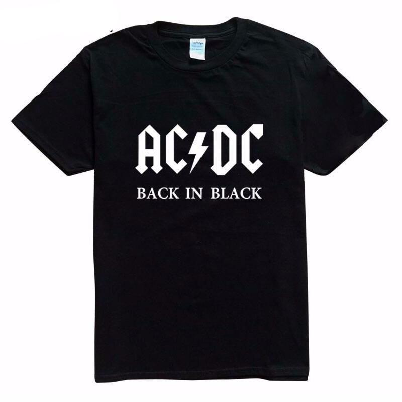 AC/DC Back in Black T Shirt