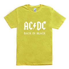 AC/DC Back in Black T Shirt - Rock & Gear