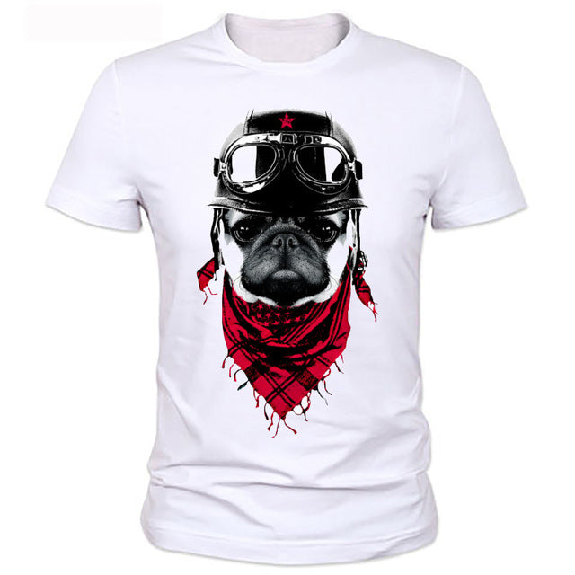 Cool Adventurous Dog T Shirt - Rock & Gear