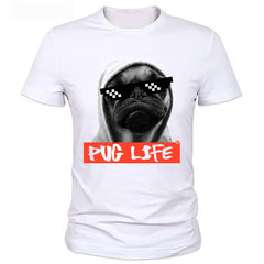 Pug Life T Shirt - Rock & Gear