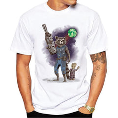 Rocket - Guardians of the Galaxy T Shirt - Rock & Gear