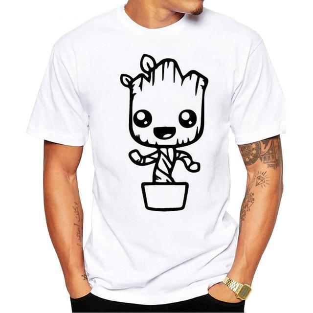 Growing Groot - Guardians of the Galaxy T Shirt - Rock & Gear
