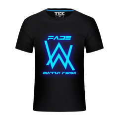 Light in the Dark Alan Walker Faded T-Shirt - Rock & Gear