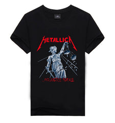 Metallica Justice For All T Shirt - Rock & Gear