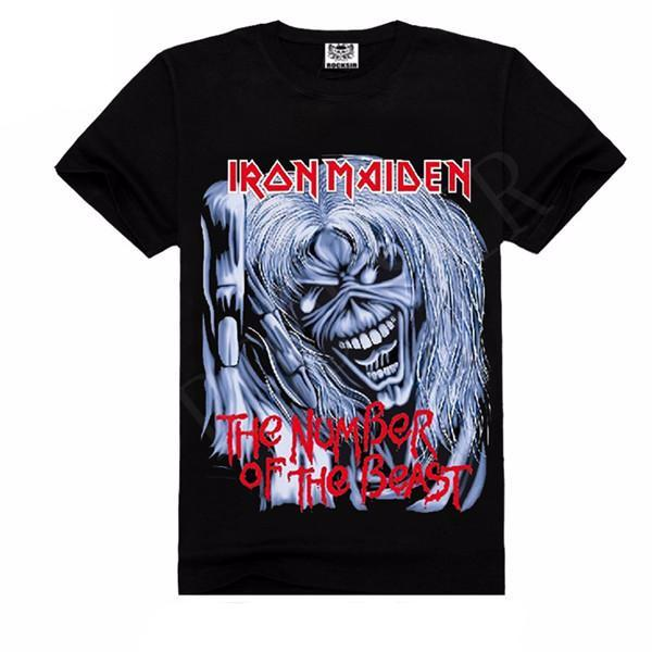 Iron Maiden The Number Of The Beast T-Shirt - Rock & Gear