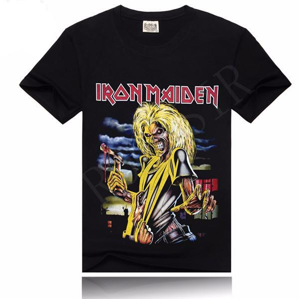 Iron Maiden Skeleton Axe T-Shirt - Rock & Gear