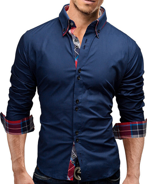 Business Dress Long Sleeve Shirt - Rock & Gear