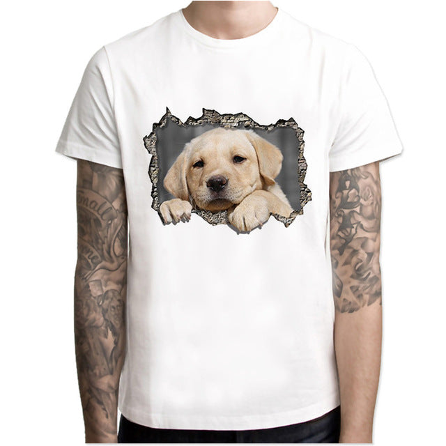 Cute Dog T Shirt - Rock & Gear