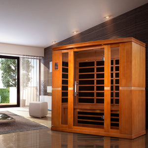 INFRARED SAUNAS... INSIDE OR OUTSIDE?