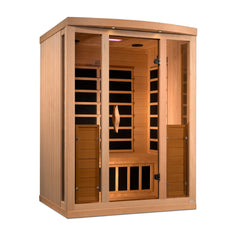 Planet Sauna Jabbah 3 Person Near Zero EMF Full Spectrum Infrared Sauna