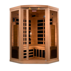 Planet Sauna Nash 3 Person Near Zero EMF Full Spectrum Infrared Sauna