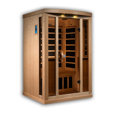 Planet Sauna Helene 2 Person Near Zero EMF Full Spectrum Infrared Sauna