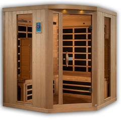 Planet Sauna Rhea 4-5 Person Near Zero EMF Full Spectrum Infrared Sauna