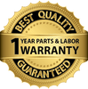 Planet Sauna 1 Year Parts and Labor Warranty