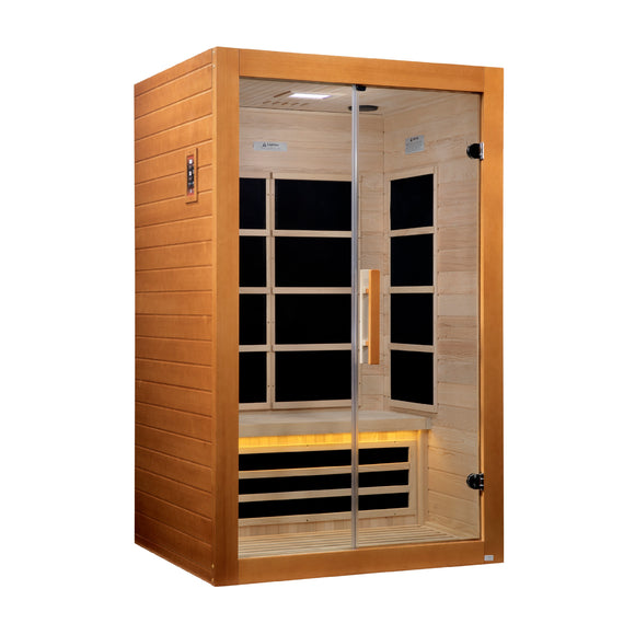 Sargas 2 Person Ultra Low EMF Far Infrared Sauna, [variant_title], Sauna, [shop_name]