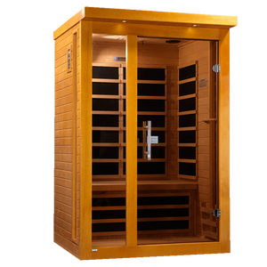 Planet Sauna:Callisto 2 Person Low EMF Far Infrared Sauna,Sauna,Dynamic Saunas